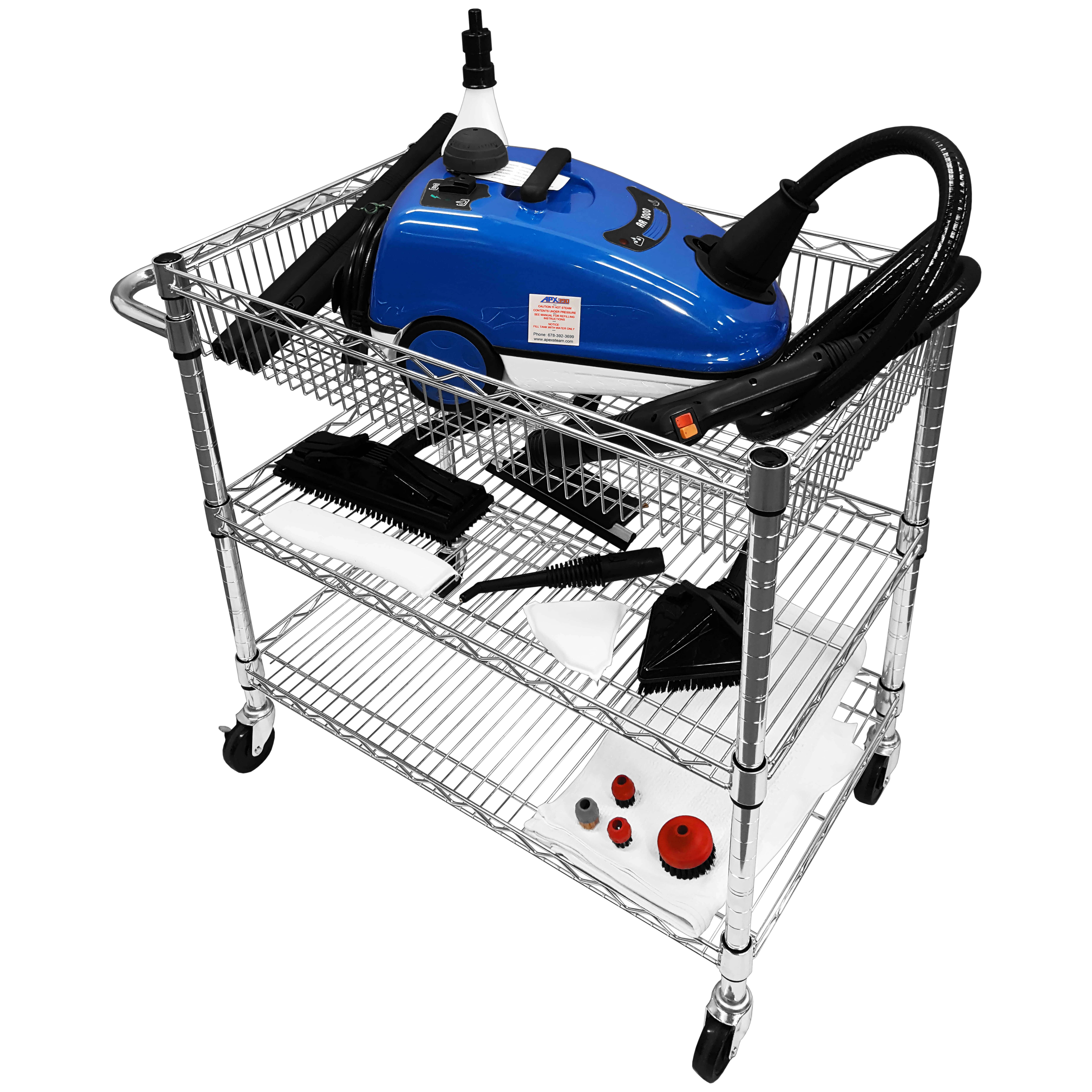 APX390 Portable Steam Cleaner Kit - Apex Steam Apex Steam