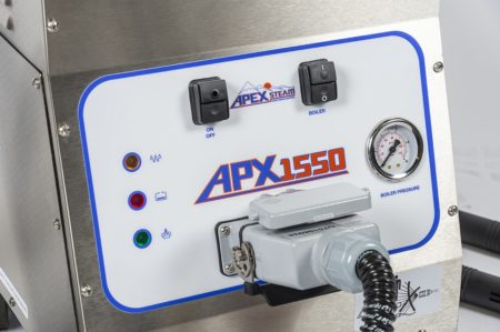 APX 1550 Control Panel