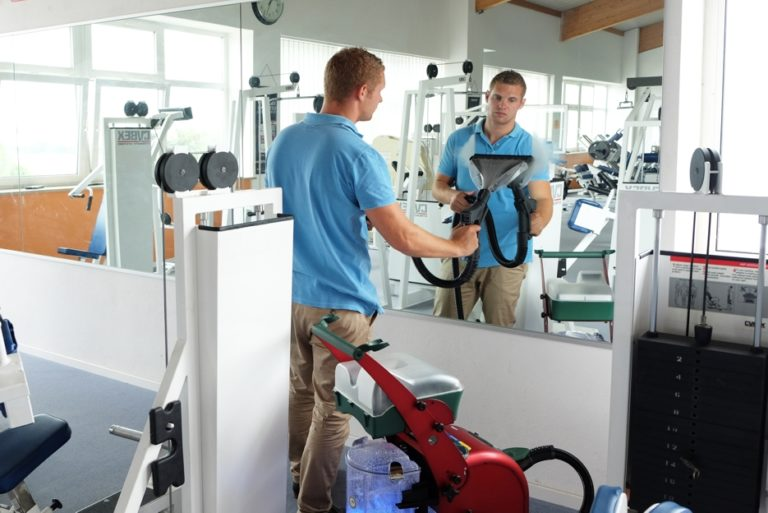 Provide a clean environment for your customer's perfect workout