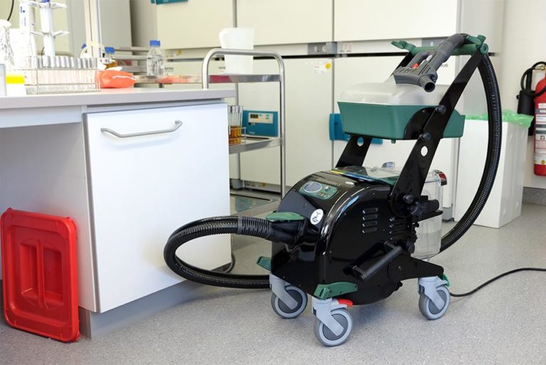 BlueEvolution is perfectly suited for quick and thorough cleaning